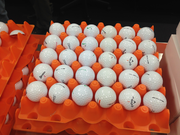 Nike Golf engineers also study the performance of the balls made by competitors.