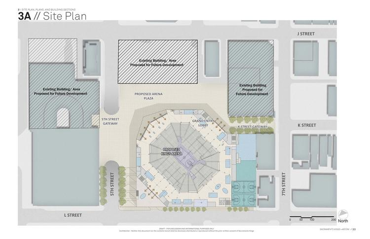Sacramento Kings owners have proposed a plan for a sports and entertainment complex on the site of Downtown Plaza.