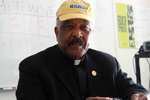 Rev. Eugene Pierce says inherent bias in the criminal justice system is a major factor in what a recent report found to be a disproportionate number of blacks incarcerated in Erie County. He is committee chair for public safety-criminal justice for the Buffalo chapter of the NAACP.