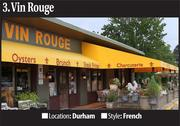 No. 3 Most-Booked Restaurant: Vin Rouge
