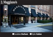 No. 2 Most-Booked Restaurant: Maggiano's