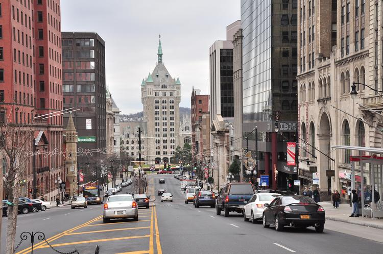NY Gov. Andrew Cuomo has endorsed a $66.5 million plan to construct a convention center in downtown Albany to be built mostly with taxpayer money.