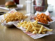 Smashburger's sides include traditional Smashfries, sweet potato fries and veggie fries.