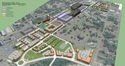A 2012 rendering shows how the Knowledge Park area of Rock Hill could be developed.