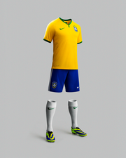 Like other recent Nike shoes and apparel, the Brazil kits are designed to allow easier movement. Nike designers used three-dimensional body scans to perfect the fit of the uniforms.