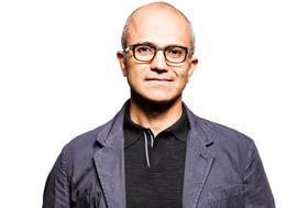 Satya Nadella, executive vice president of Microsoft's Cloud and Enterprise group, and rumored new CEO.