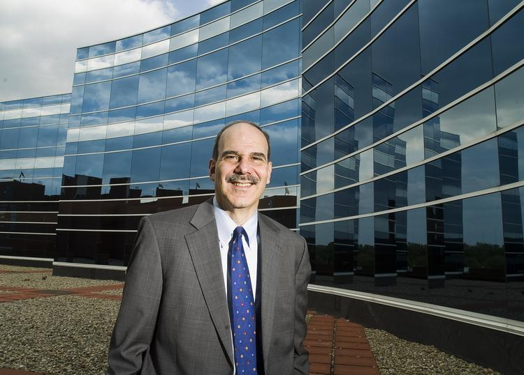 Mark Shugarman, shown here, is the president and CEO of Floyd Memorial Hospital & Health Services.