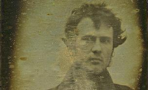 Robert Cornelius's self-portrait, believed to be the earliest of its kind.