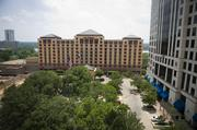 The Four Seasons Hotel itself rocketed through the ranking of Austin's most expensive building this year with a 41 percent increase in value between this year and last. The 237,066-square-foot building posted the largest increase of any building -- from $66.5 million to $93.9 million --  in town and is valued higher on the tax roles than the Chase Bank Tower. The building was built in 1985 and is owned by PR LCP Austin Hotel TH LLC.