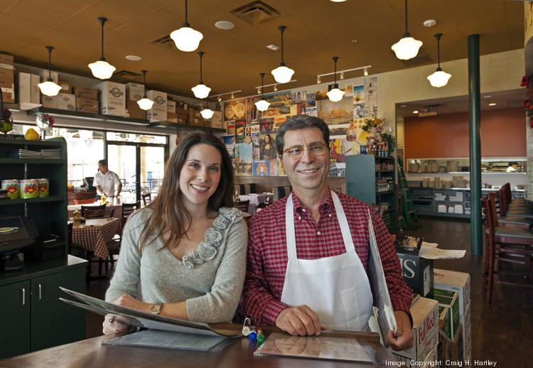 D'Amico's Italian Market Cafe has decided to close its Heights location. Pictured: Nash D'Amico, president and owner (right), and Brina D'Amico Donaldson, vice president and owner, at D'Amico's Italian Market Cafe.