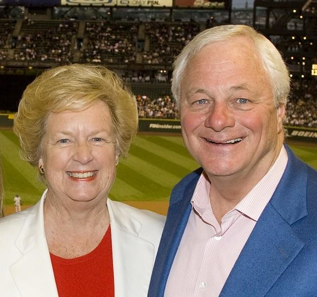Susan and Chuck Armstrong expect to have more time for each other after Chuck Armstrong retires Jan. 31 as president and chief operating officer of the Seattle Mariners.