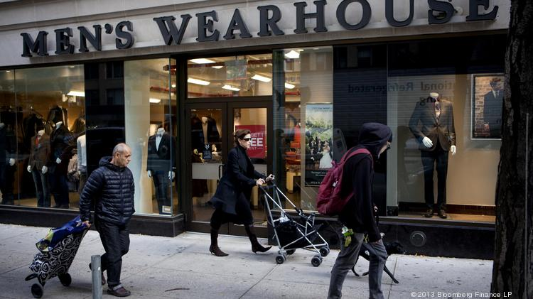 Men's Wearhouse Inc. is buying Jos. A. Bank Clothiers Inc., in an all-cash transaction for $1.8 billion. Photographer: Mati Milstein/Bloomberg