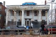 The Alvah Kittredge House, the historic Greek Revival in Roxbury, is undergoing a $3.9 million  rehab.