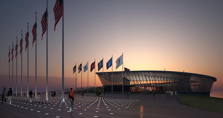 The CDDC's plan includes a tribute to veterans.