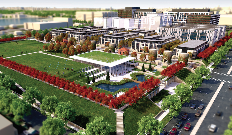 Vision McMillan Partners and DC have jointly submitted the PUD application for the 25-acre McMillan site in Northwest DC.