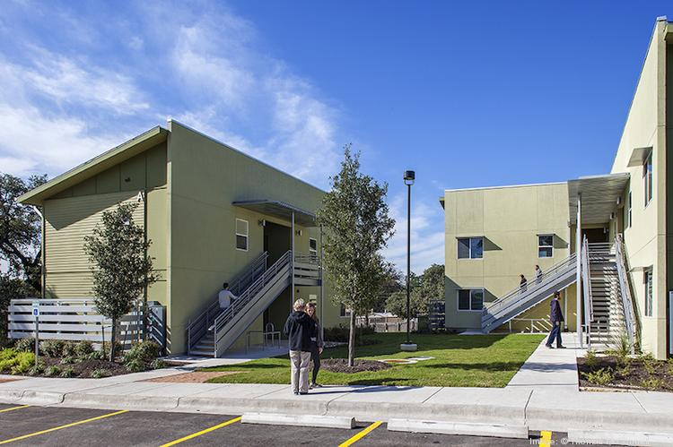 Anderson Village, an affordable housing project in East Austin, recently opened for qualified renters.