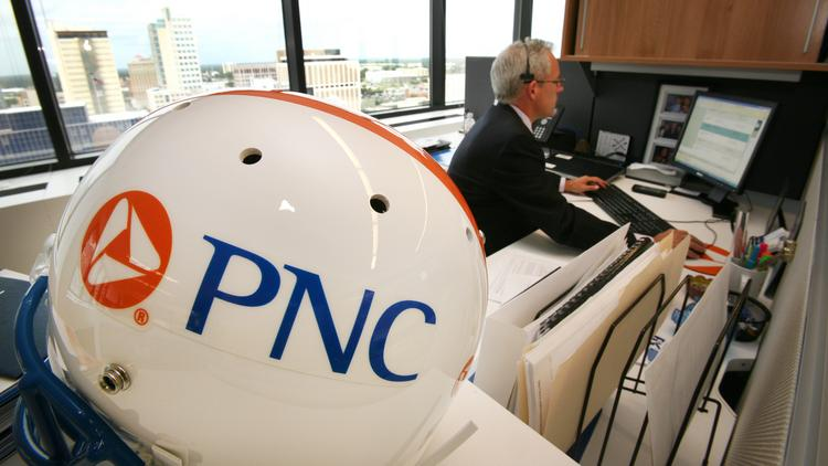 PNC's newly renovated office space in Tampa.