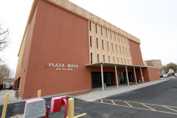 The state's purchase of Plaza Maya this week will have some offsetting effects for Downtown Albuquerque's high office vacancy rate and the looming loss of Downtown workers from the Gap's relocation to North I-25.