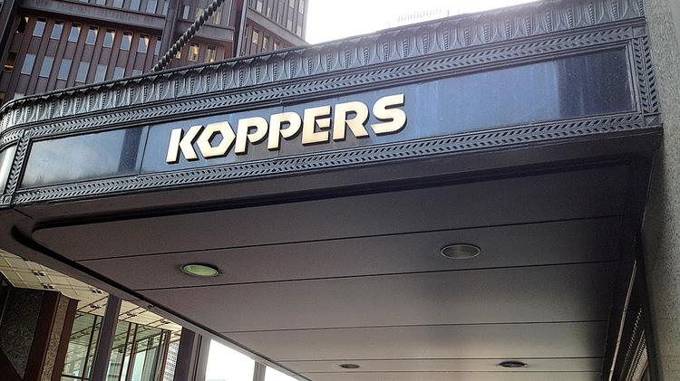 The Koppers Building in downtown Pittsburgh.