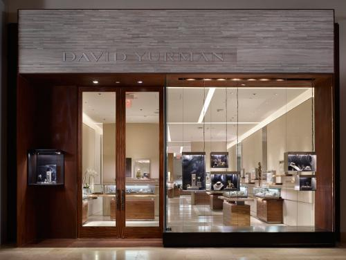 David Yurman's jewelry boutique opened this week in SouthPark mall.