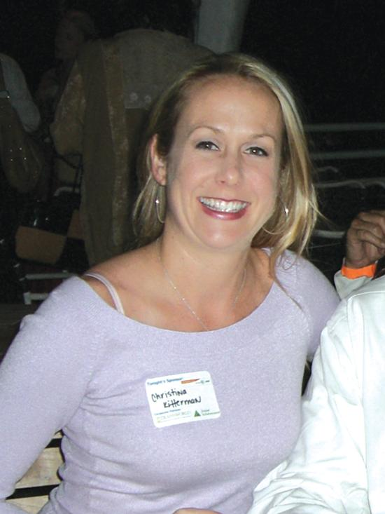 Christina Kitterman will serve five years in prison for aiding Scott Rothstein's Ponzi scheme.