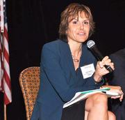 Andrea Bradley was among the panelists at the 2013 MedUTech event in Boca Raton.