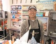 Charlie Lim, a U.S. citizen, is the owner of Lake Blue Gourmet Market in Old City, has advice for prospective business owners: work hard, save money.