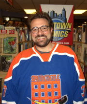 """Kevin Smith Director Kevin Smith promised to use Glass to document work on his next movie. He tweeted: """"I'll tell you what I'd do #ifihadglass - I'd document the writing of CLERKS III. Watching writing happen: it'd be both exciting AND boring."""""""