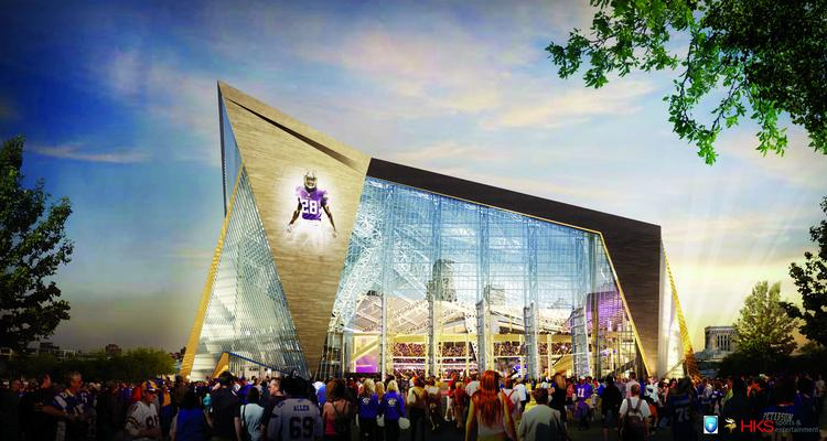 The NCAA picked Minneapolis among the finalists to host a men's Final Four during the 2017-20 cycle. If selected, the games would be played at the new Minnesota Vikings stadium.