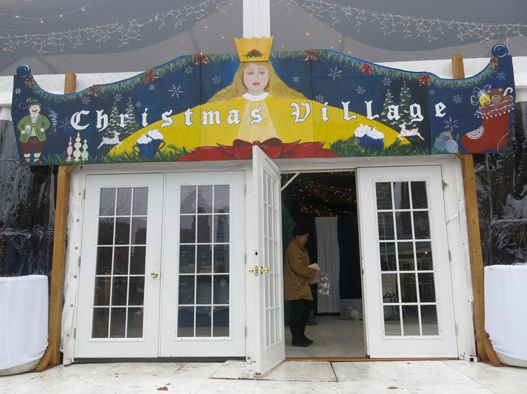 The Christmas Village at West Shore Park in the Inner Harbor opens on Thanksgiving and runs through Christmas Eve. The German Christmas market got its roots in Philadelphia, but this is its first run in Baltimore. We got a sneak peek the day before it opened.