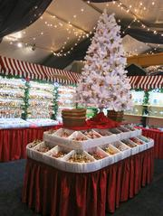 More than 40 vendors at the market will sell everything from Christmas ornaments to traditional German foods like bratwurst and potato salad.