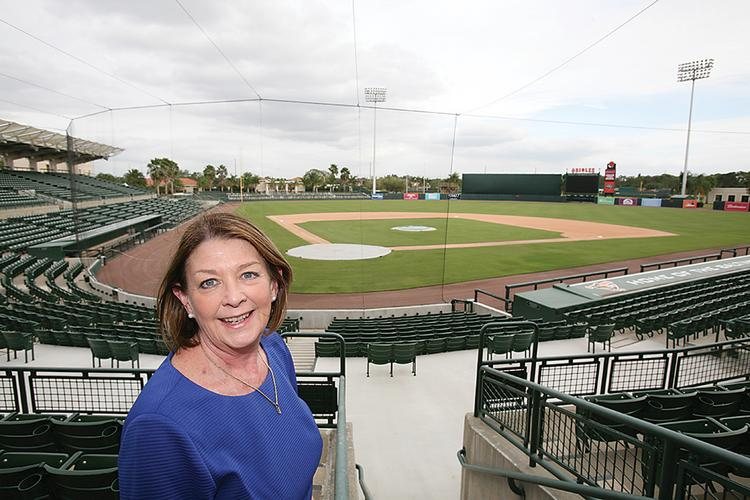 Virginia Haley, president of Visit Sarasota, worked with Orioles executives to develop a creative win-win plan.