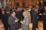 An overview of the cocktail reception.