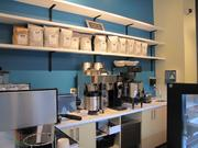 Creative Cafe @ Replica serves local products from Counter Culture Coffee, Di Bruno Bros., Le Bus and Whipped Bakeshop.