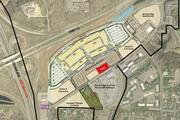 A site plan shows where the hotel would be located in relation to the Twin Citeis at Eagan outlet mall and parking ramp.