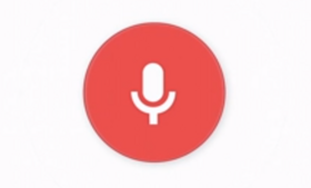 After you download the extension, Google Voice Search will let you begin searching by speaking the words,