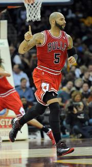 Carlos Boozer is expected to play a key role in Chicago Bulls playoff games against the Brooklyn Nets.