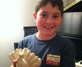 Asher Weintraub is the 10-year-old founder of Menurkey, a Menorah shaped like a turkey commemorating what could be the only time in history Thanksgiving and Hanukkah fall on the same day. He's a fourth grader who lives in New York City with his parents, who are filmmakers, and his younger brother.