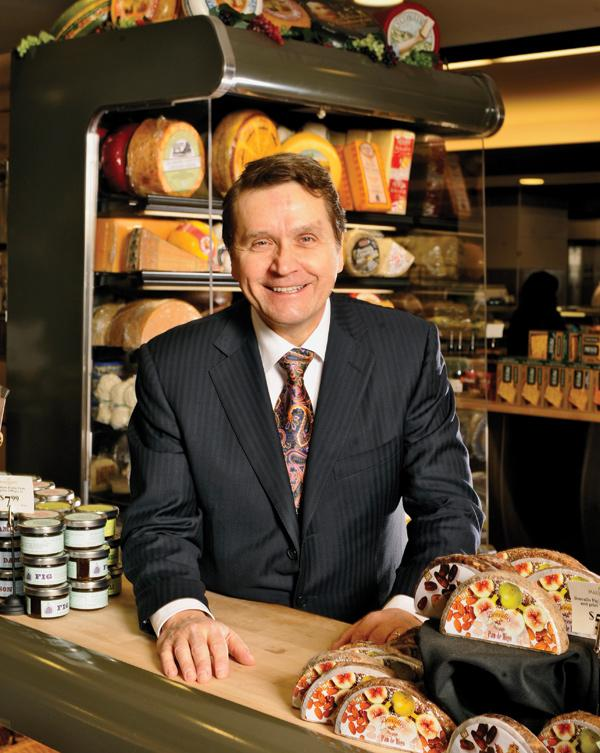 Bob Mariano is Roundy's chairman, president and CEO. The Mariano's Fresh Market chain is named after him.