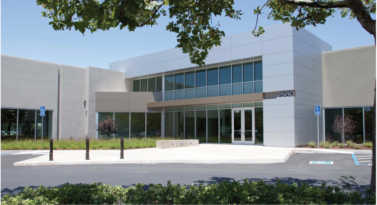 The building leased by Avnet is part of a four-building office/R&D park.