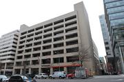 The sale of the Washington Post headquarters, at 1150 15th St. NW, also includes neighboring land along 15th Street.