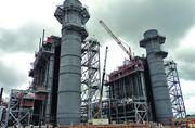 Panda Power's 750 MW plant under construction in Sherman.