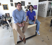 Wifredo Fernandez and Danny Lafuente, founders of the LAB Miami