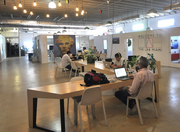 Another angle on the open space at the LAB Miami