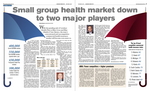 Cover story: Small group health market down to two major players