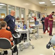 University Hospital's emergency department has felt the weight of caring for a large number of Texas' uninsured patients.