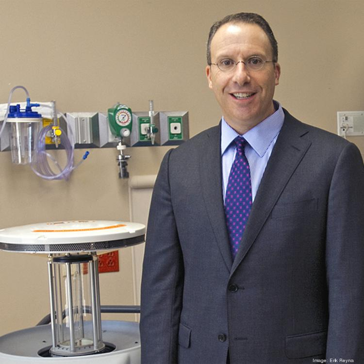 Xenex Disinfection Services' Morris Miller says the medical-device company is on pace to see more significant growth.