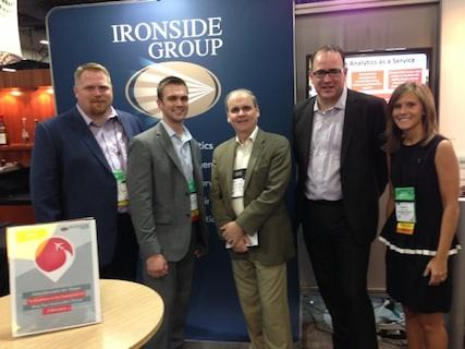 From left: Nate Romanek, Greg Bonnette, Shaun Jones, Tim Kreytak and Kristin Brown. All are from Ironside except for Jones, who is from IBM.