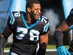 Out of jail on bond, what's next for Carolina Panthers' Greg Hardy?