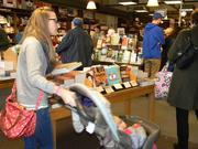 Last year, sales on Small Business Saturday overtook Black Friday sales at Boswell Book Co. for the first time, owner Daniel Goldin said.